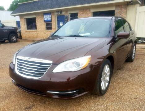 2012 Chrysler 200 for sale at Dorsey Auto Sales in Tyler TX