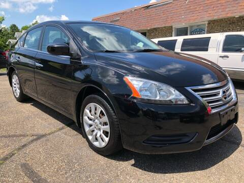 2013 Nissan Sentra for sale at Approved Motors in Dillonvale OH