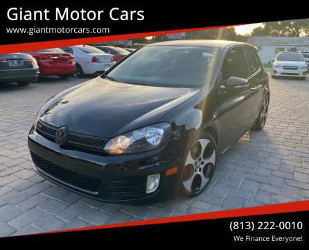 2011 Volkswagen GTI for sale at Giant Motor Cars in Tampa FL