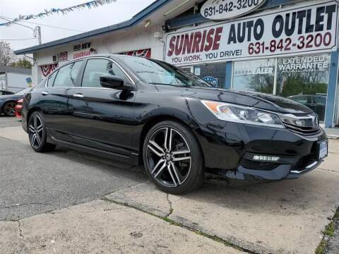 2017 Honda Accord for sale at Sunrise Auto Outlet in Amityville NY