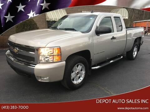 2008 Chevrolet Silverado 1500 for sale at Depot Auto Sales Inc in Palmer MA