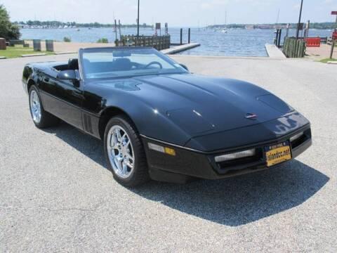 1989 Chevrolet Corvette for sale at Island Classics & Customs in Staten Island NY