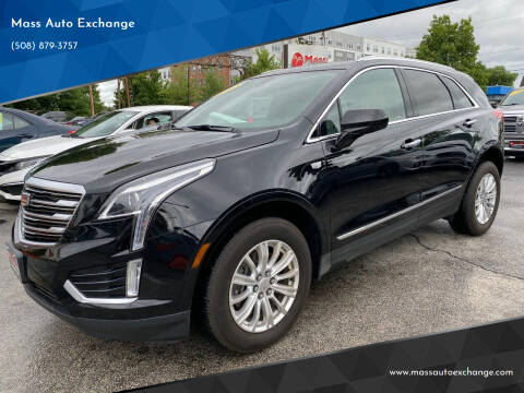 2019 Cadillac XT5 for sale at Mass Auto Exchange in Framingham MA