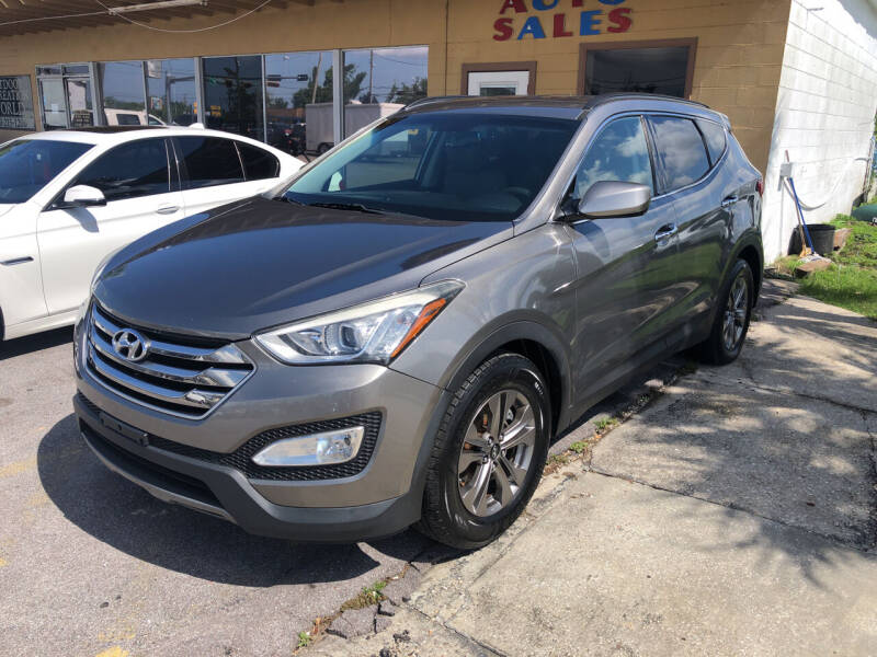 2015 Hyundai Santa Fe Sport for sale at Outdoor Recreation World Inc. in Panama City FL