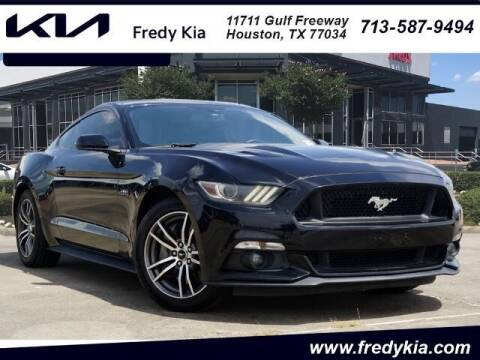2017 Ford Mustang for sale at FREDY KIA USED CARS in Houston TX
