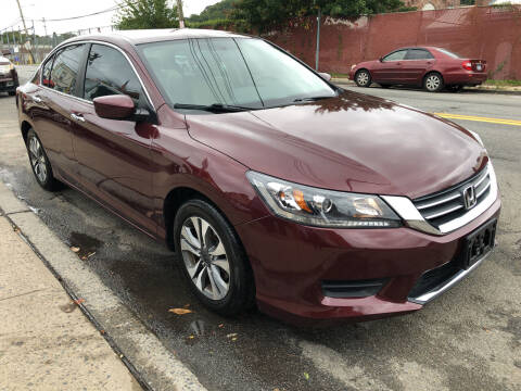 2013 Honda Accord for sale at Deleon Mich Auto Sales in Yonkers NY