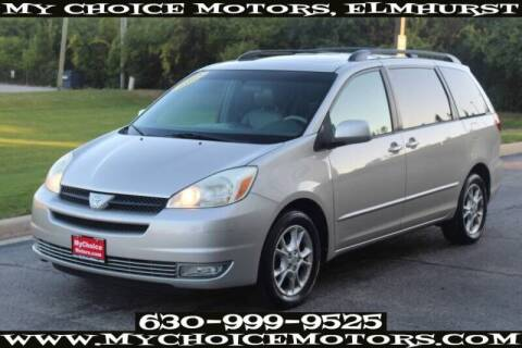2005 Toyota Sienna for sale at My Choice Motors Elmhurst in Elmhurst IL
