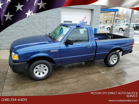 2008 Ford Ranger for sale at Motor City Direct Auto Sales & Service in Pontiac MI