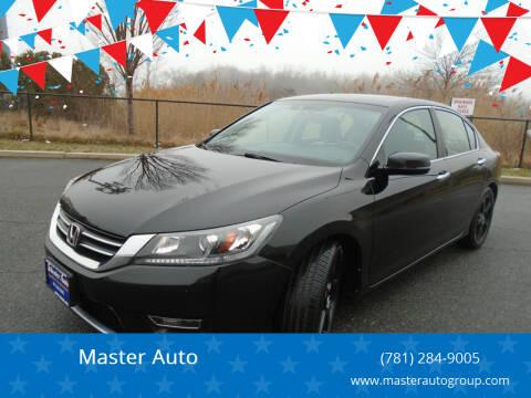 2013 Honda Accord for sale at Master Auto in Revere MA
