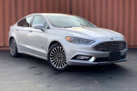 2018 Ford Fusion Energi for sale at CU Carfinders in Norcross GA