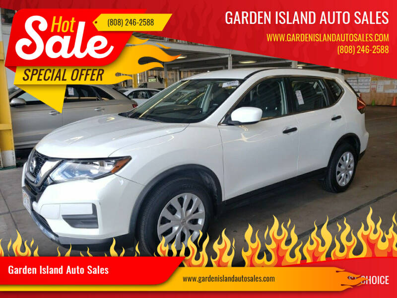 2017 Nissan Rogue for sale at Garden Island Auto Sales in Lihue HI