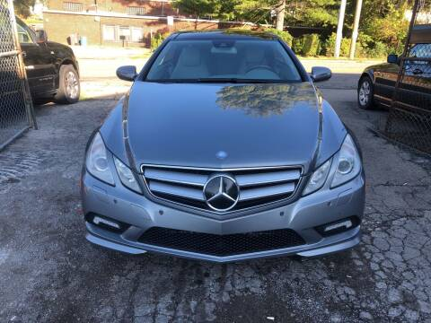2010 Mercedes-Benz E-Class for sale at Six Brothers Auto Sales in Youngstown OH