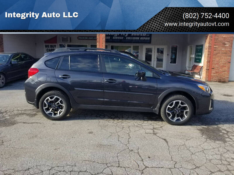 2017 Subaru Crosstrek for sale at Integrity Auto LLC - Integrity Auto 2.0 in St. Albans VT