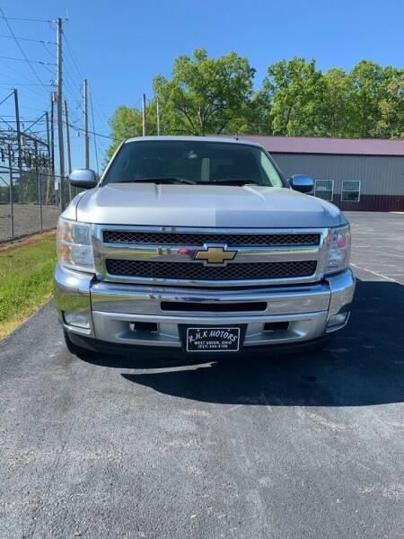 2012 Chevrolet Silverado 1500 for sale at RHK Motors LLC in West Union OH