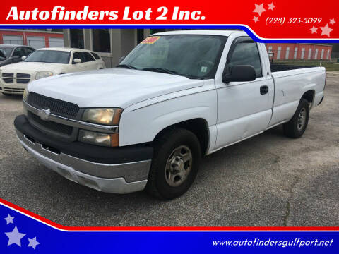 2004 Chevrolet Silverado 1500 for sale at Autofinders in Gulfport MS