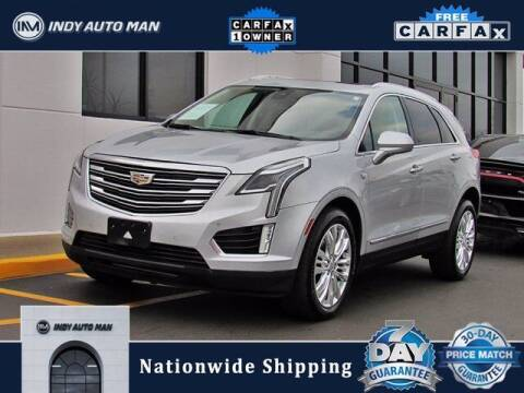 2018 Cadillac XT5 for sale at INDY AUTO MAN in Indianapolis IN