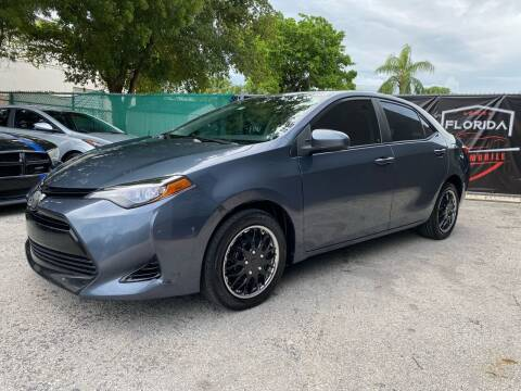 2017 Toyota Corolla for sale at Florida Automobile Outlet in Miami FL