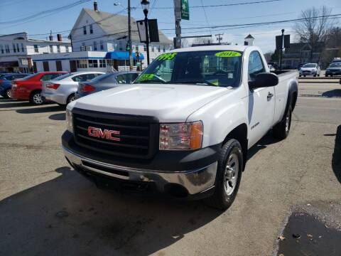 2012 GMC Sierra 1500 for sale at TC Auto Repair and Sales Inc in Abington MA