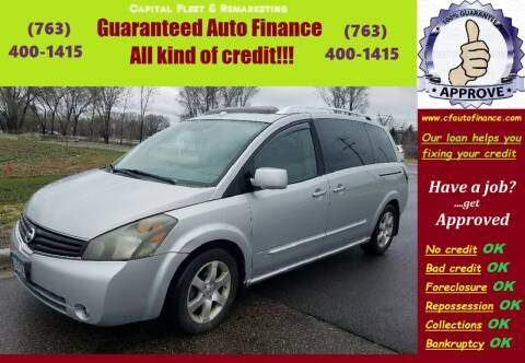 2008 Nissan Quest for sale at Capital Fleet  & Remarketing  Auto Finance in Columbia Heights MN