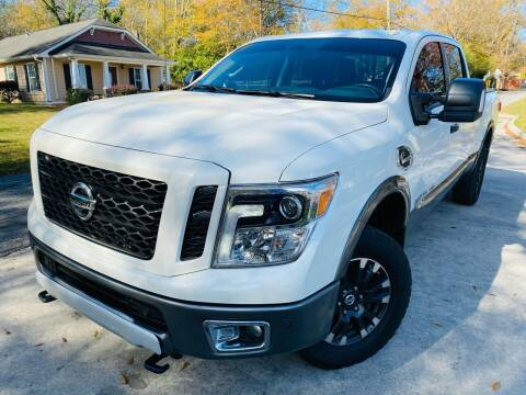2018 Nissan Titan XD for sale at Cobb Luxury Cars in Marietta GA