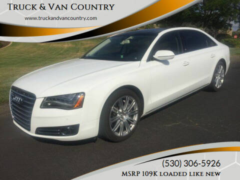 2014 Audi A8 L for sale at Truck & Van Country in Shingle Springs CA