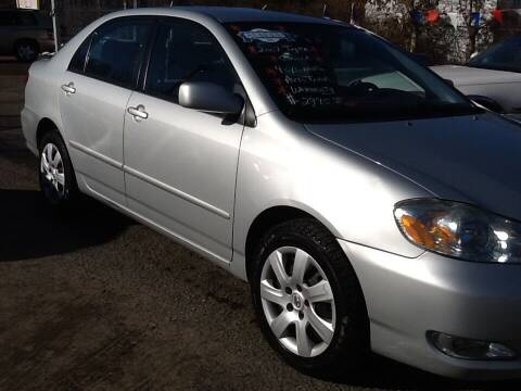 2007 Toyota Corolla for sale at Lance Motors in Monroe Township NJ