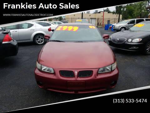 2003 Pontiac Grand Prix for sale at Frankies Auto Sales in Detroit MI