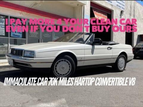 1989 Cadillac Allante for sale at Auto Advantage in Escondido CA