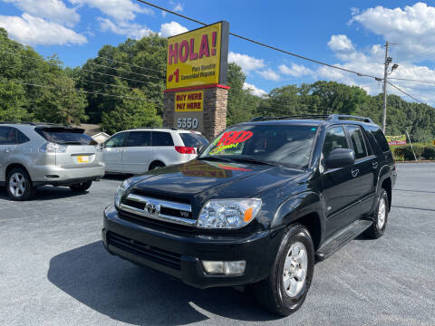 2005 Toyota 4Runner for sale at No Full Coverage Auto Sales in Austell GA
