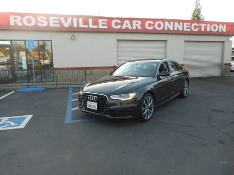 2012 Audi A6 for sale at ROSEVILLE CAR CONNECTION in Roseville CA