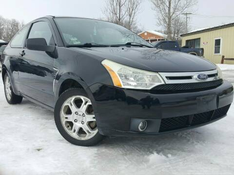 2008 Ford Focus for sale at GLOVECARS.COM LLC in Johnstown NY
