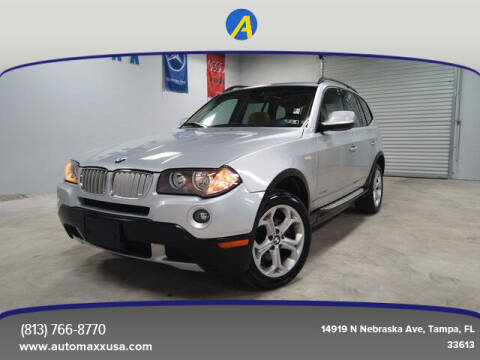 2010 BMW X3 for sale at Automaxx in Tampa FL