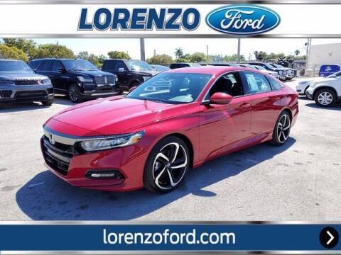 2019 Honda Accord for sale at Lorenzo Ford in Homestead FL