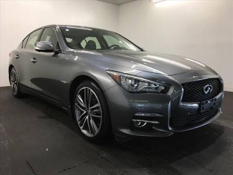 2017 Infiniti Q50 Hybrid for sale at Champagne Motor Car Company in Willimantic CT