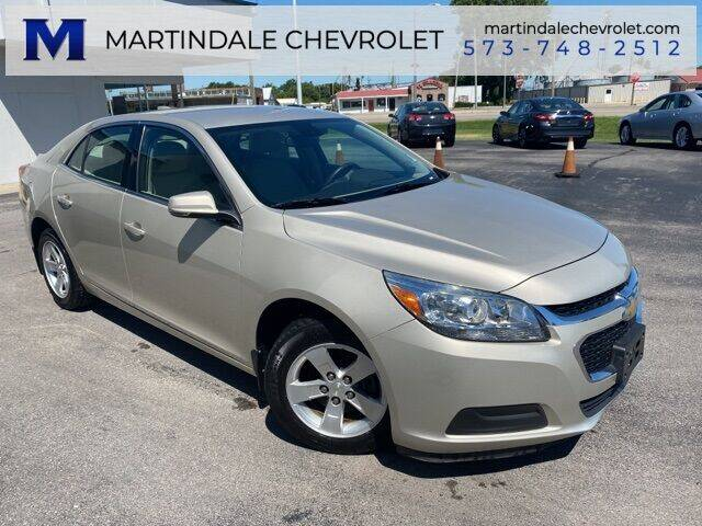 2015 Chevrolet Malibu for sale at MARTINDALE CHEVROLET in New Madrid MO