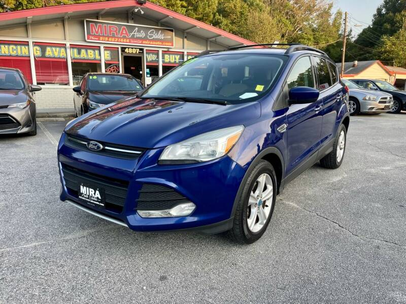 2013 Ford Escape for sale at Mira Auto Sales in Raleigh NC