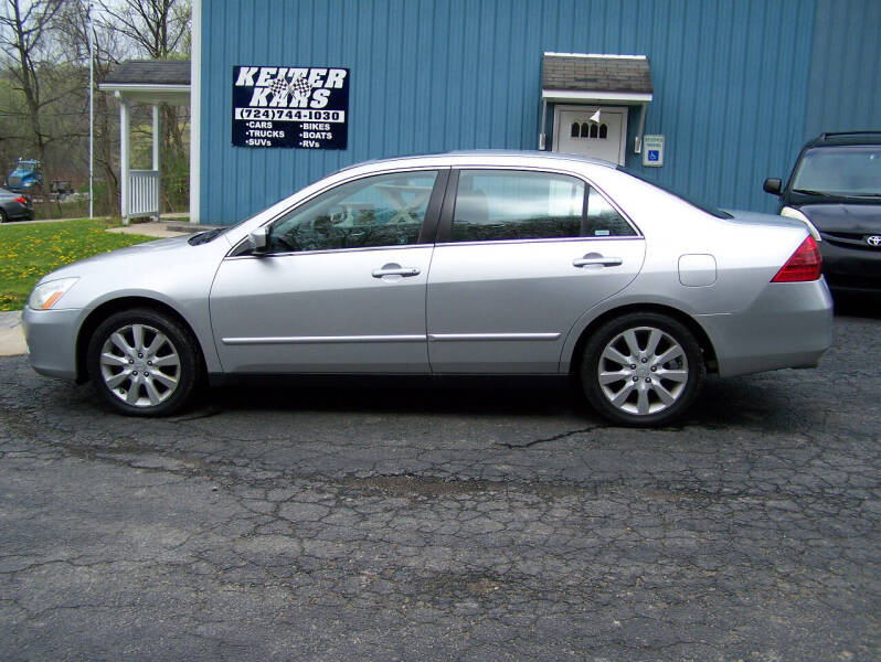 2006 Honda Accord for sale at Keiter Kars in Trafford PA