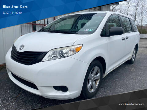 2011 Toyota Sienna for sale at Blue Star Cars in Jamesburg NJ
