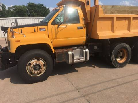 2001 GMC C7500 for sale at Bramble's Auto Sales in Hastings NE