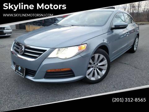 2012 Volkswagen CC for sale at Skyline Motors in Ringwood NJ