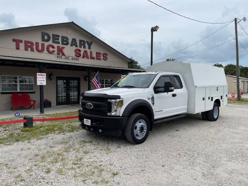 2019 Ford F-450 Super Duty for sale at DEBARY TRUCK SALES in Sanford FL