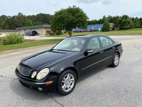 2003 Mercedes-Benz E-Class for sale at Two Brothers Auto Sales in Loganville GA