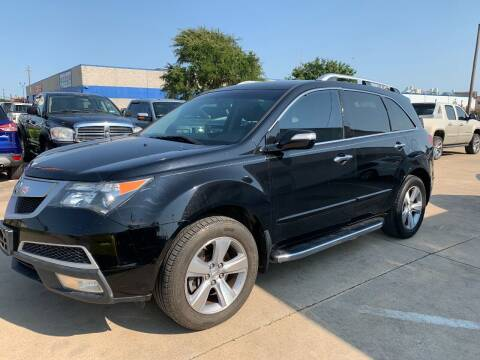 2013 Acura MDX for sale at SP Enterprise Autos in Garland TX
