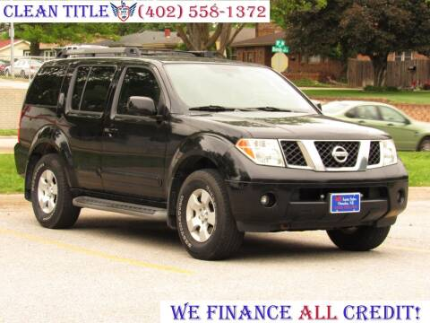 2005 Nissan Pathfinder for sale at NY AUTO SALES in Omaha NE