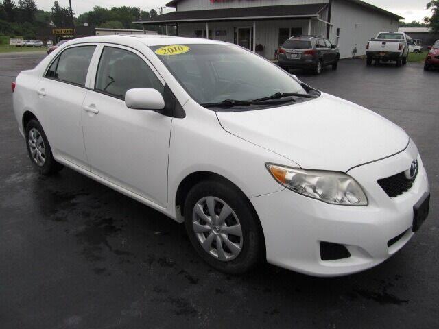 2010 Toyota Corolla for sale at Thompson Motors LLC in Attica NY