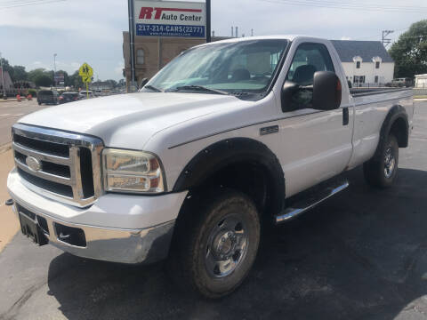 2006 Ford F-250 Super Duty for sale at RT Auto Center in Quincy IL