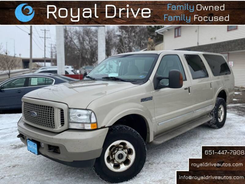 2004 Ford Excursion for sale at Royal Drive in Newport MN