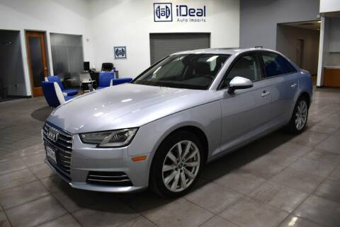 2017 Audi A4 for sale at iDeal Auto Imports in Eden Prairie MN