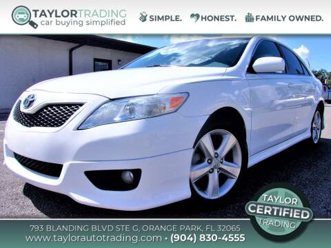 2010 Toyota Camry for sale at Taylor Trading in Orange Park FL