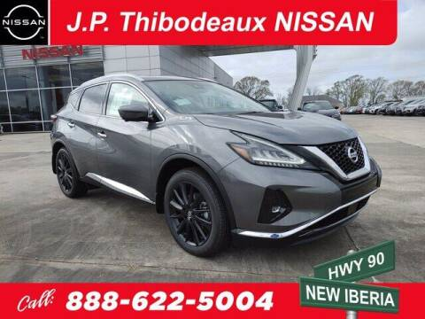 2021 Nissan Murano for sale at J P Thibodeaux Used Cars in New Iberia LA